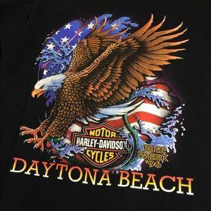 Vintage '96 Harley-Davidson T-Shirt Daytona Beach